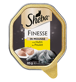 Finesse in Mousse mit Huhn